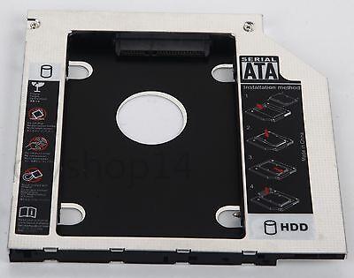 Second SSD Hard Drive Caddy Adapter for Lenovo IdeaPad Z500 Z500t Z510 Z510t New