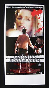 GRIEVOUS-BODILY-HARM-1988-Orig-Australian-daybill-movie-poster-John-Waters