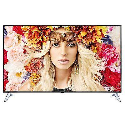 Telefunken L65U253B4CW Ultra HD Fernseher 65 Zoll 165cm 4K SmartTV DVB-C/-T2/-S2