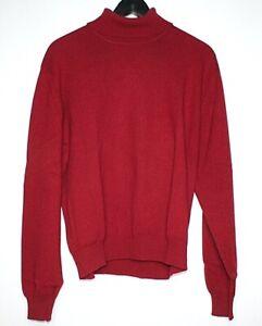 Peter Scott Strickpullover Pullover Damen Oberteil Gr 42 Rot Wolle Ae 19 Ebay