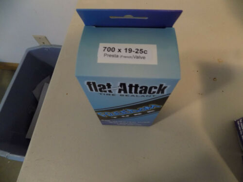 Flat Attack 700 x 19-25c Freedom Tubes Presta Valve 2 New In Box