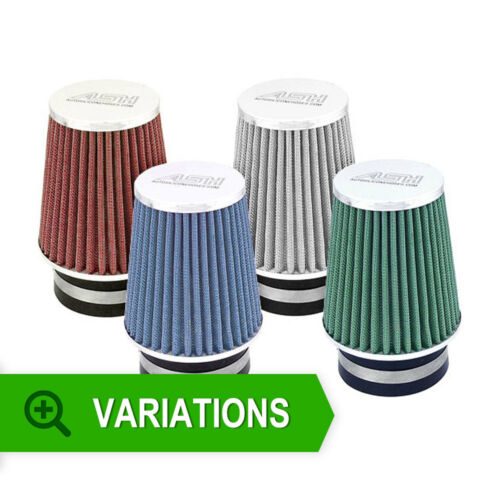 New ASH UNIVERSAL AIR FILTER 60mm NECK INDUCTION INTAKE CONE