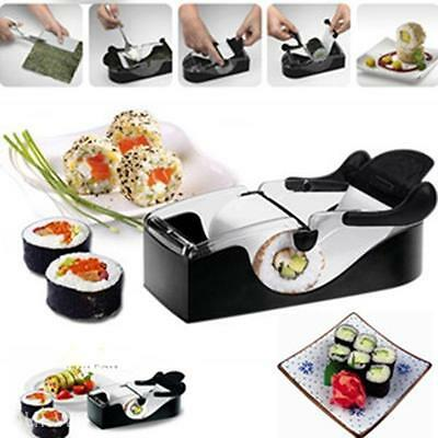 DIY Sushi Roller Cutter Machine Gadgets Kitchen Tool Durable Sushi Roll Maker