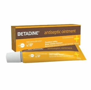 Details about 2 X 10g BETADINE Antiseptic Ointment for SKIN INFECTION BURNS  WOUND MG EL