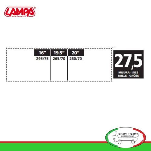 Catene da neve 265 70 19,5 265//70r19,5 16mm Lampa S16 Gruppo 27,5-16115