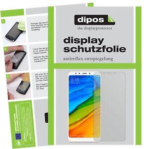 2x-Xiaomi-Redmi-5-Plus-Protector-de-Pantalla-protectores-mate-dipos