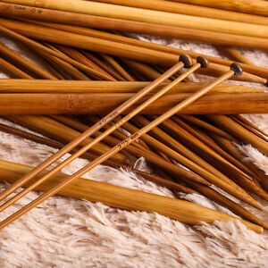 36pcs 18 sizes single pointed carbonized bamboo knitting needles craft crochet ebay - Basic facts about carbonized bamboo furniture ...