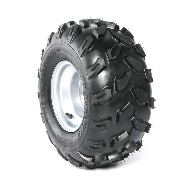 "18x9.5-8"" inch Rear Wheel(tubeless knobby tyre+rim) ATV Quad Buggy Ride on Mower"