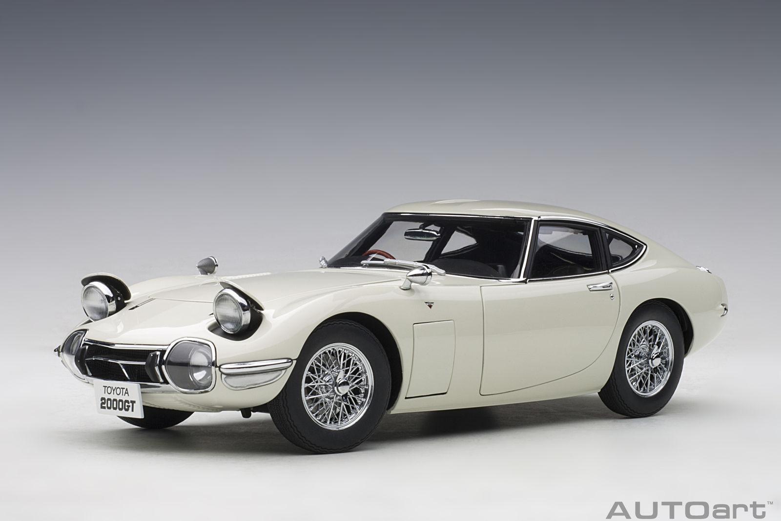 1 18 bilkonst leksakota 2000GT -kupa 1965 (hjul med vit  trådinlägg)
