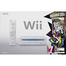 Nintendo Wii Just Dance 4 Bundle White Very Good 2Z