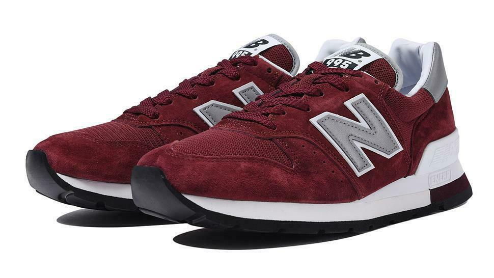 NEW BALANCE BALANCE BALANCE 995 30th ANNIVERSARY M995CHBG BURGUNDY WHITE MADE IN USA SZ 12 453f5c