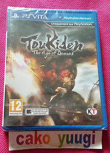 TOUKIDEN-THE-AGE-OF-DEMONS-PS-VITA-NEUF-SOUS-BLISTER-VERSION-FRANCAISE