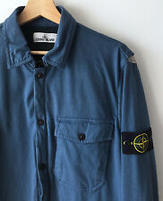 STONE ISLAND BLUE ZIPPED CLASSIC OVERSHIRT / JACKET L mod casuals