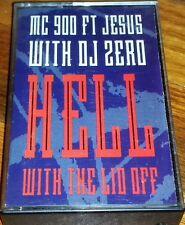 Mc 900 Foot Jesus DJ Zero Hell With The Lid Off Cassette tape ALTERNATIVE MUSIC