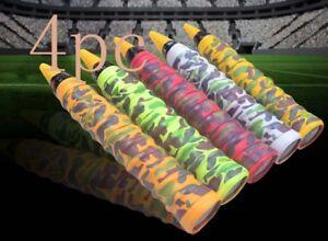 Kleingeräte & Zubehör 4X Stretchy Anti Slip Racket Over Grip Roll Tennis Badminton Handle Grip Tape S|