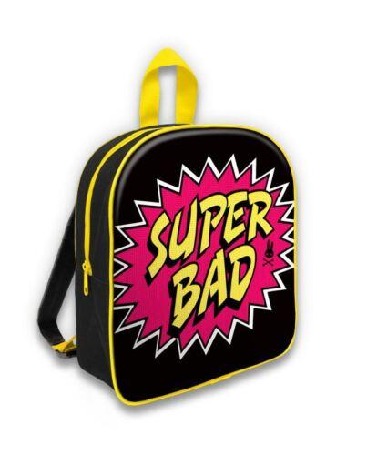 Six Bunnies Kids Super Bad Backpack Bright Comic Emo Alternative Rucksack