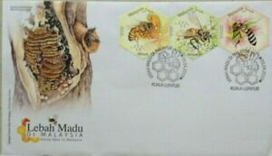 Malaysia FDC with Stamps (09.04.2019) - Honey Bees in Malaysia