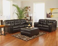 Groovy Buy Ashley Delta City Armless Loveseat In Chocolate Online Beatyapartments Chair Design Images Beatyapartmentscom