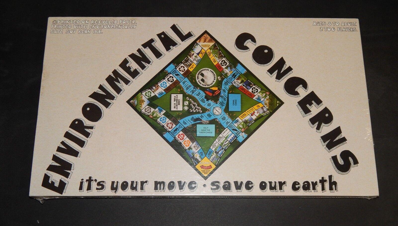 Environmental Concerns Vtg 1993 Board Game NEW