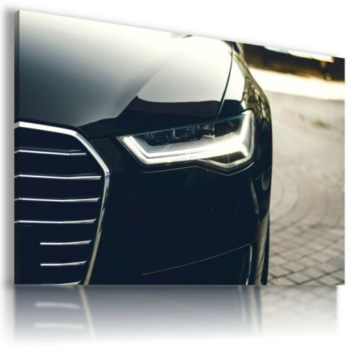 AUDI A6 BLACK Cars Wall Art Canvas Wall Art AU880 MATAGA