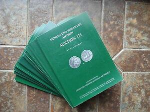 10 Auktionskataloge Hirsch - München.münzen Auktion 196 Bis … Bitte Text Lesen!!