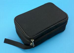 Double Layer Zipper Carrying Case / Bag for Multimeters. Fits UT61E, Fluke 87V