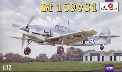 1:72 Amodel #72219 Messerschmitt Bf 109 V-31 German fighter Neuheit !!!