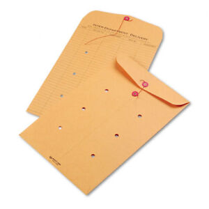 Light-Brown-Kraft-String-amp-Button-InterOffice-Envelope