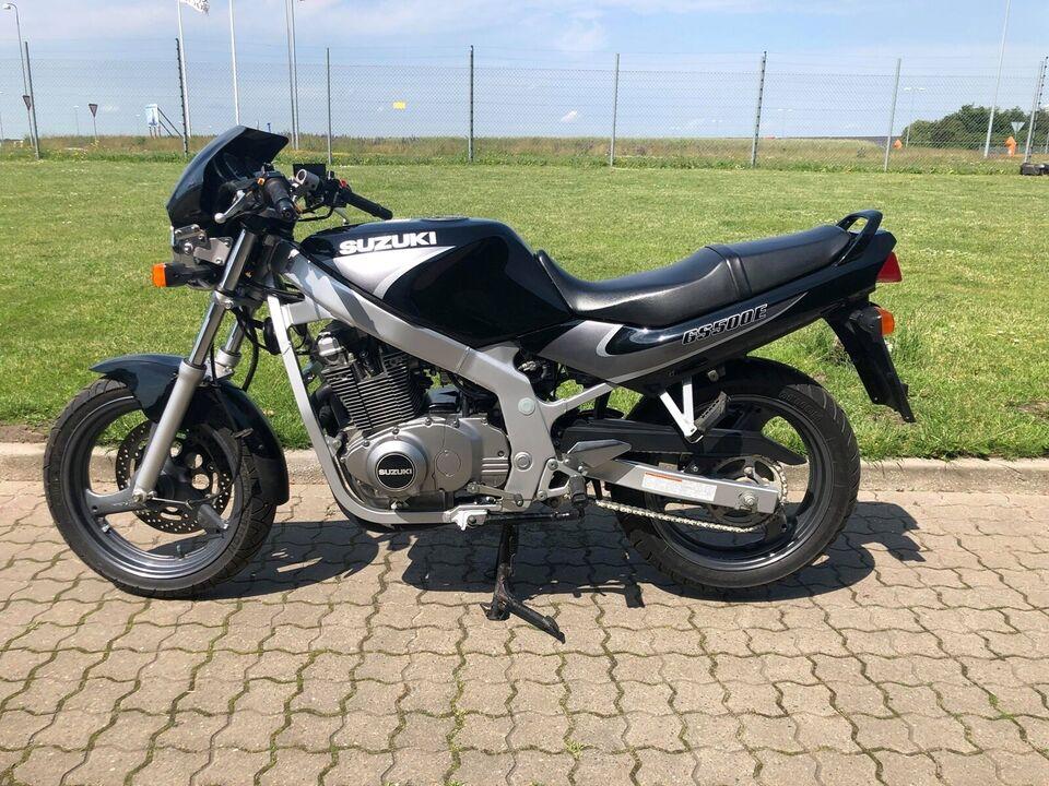 Suzuki, GS 500, ccm 500