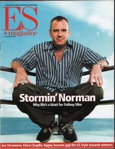 NORMAN-COOK-MICHAEL-CAINE-Vintage-British-ES-Magazine-September-2001