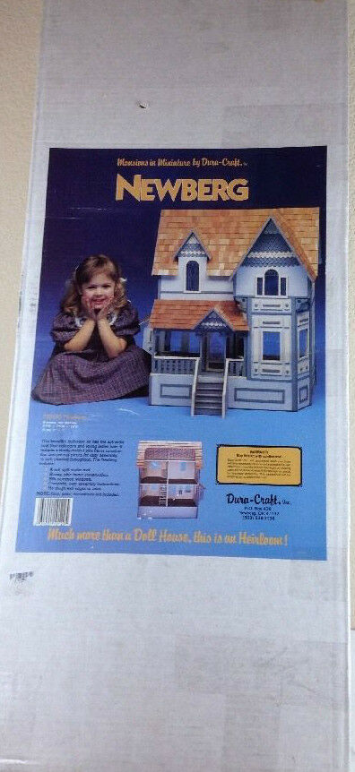 VERY RARE VINTAGE DURA CRAFT DOLLHOUSE KIT  MANSIONS IN MINIATURE -