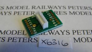 Hornby X6316 Class 423 4-VEP 8-Pin Main PCB Socket