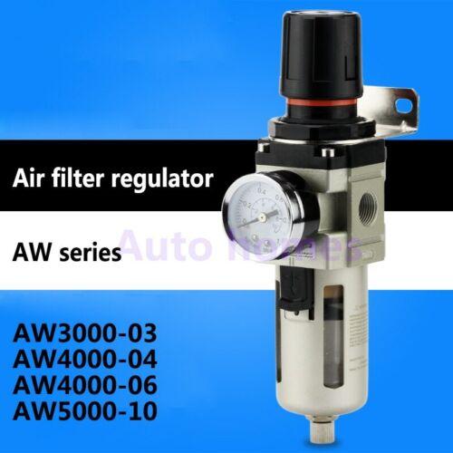 Pneumatic SMC type air filter regulator unit AW4000-04//06 1//2 3//4 inch