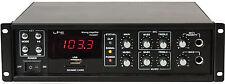ELA AMPLIFICADOR LTC PAA80BT 80 W Bluetooth,USB-MP3,FM TUNER Refuerzo de sonido