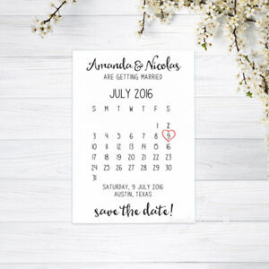 PERSONALISED-CALENDAR-SAVE-THE-DATE-CARDS-INVITATIONS-WEDDING-WHITE