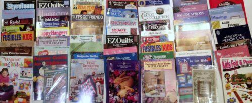 Craft Cross Stitch Quilting Books VARIETY ALL NEW No Duplicates Lot B 50