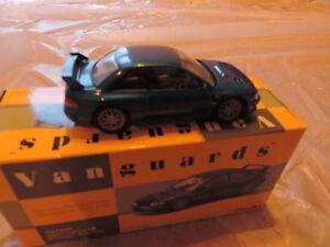 Avantanges Corgi Subaru Impreza 22b Wrc Sti Coupe 1/43 Sonic Blue Edition limitée