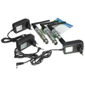 Wireless-1-Set-2-4G-ISM-DMX512-Male-XLR-Transmitter-1000M-Ultra-Long-Distance