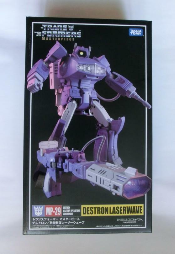 Nuevo Figura de Transformers Takara Masterpiece MP-29 Shockwave En Stock