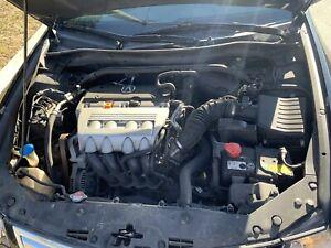 2013 Acura TSX Black/Black Leather Interior  90745km