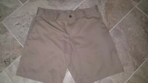best service 562d1 f0be1 Details about Adidas Climacool/Climalite Brown Golf/Board Shorts Size 36