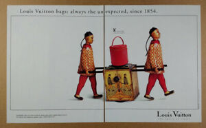 1994 Louis Vuitton Cannes Bag in Red Epi Leather vintage print Ad