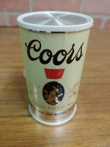 VINTAGE COORS BEER CAN TRANSISTOR AM RADIO With Box