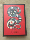 New GUCCI Snake Empty Box for Shoes Heelf Flats Bag Handbag Purse Wallet Scarf