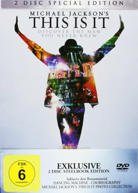 This Is It - (Michael Jackson) - Steelbook # 2-DVD-NEU