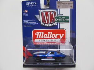 M2-Auto-Drivers-Blue-Mallory-Ignition-039-66-Chevy-Corvette-427-w-Rubber-Tires