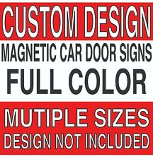 Auto Car Amp Truck Magnet Signs Art Files Ready Or Design Available Full Color