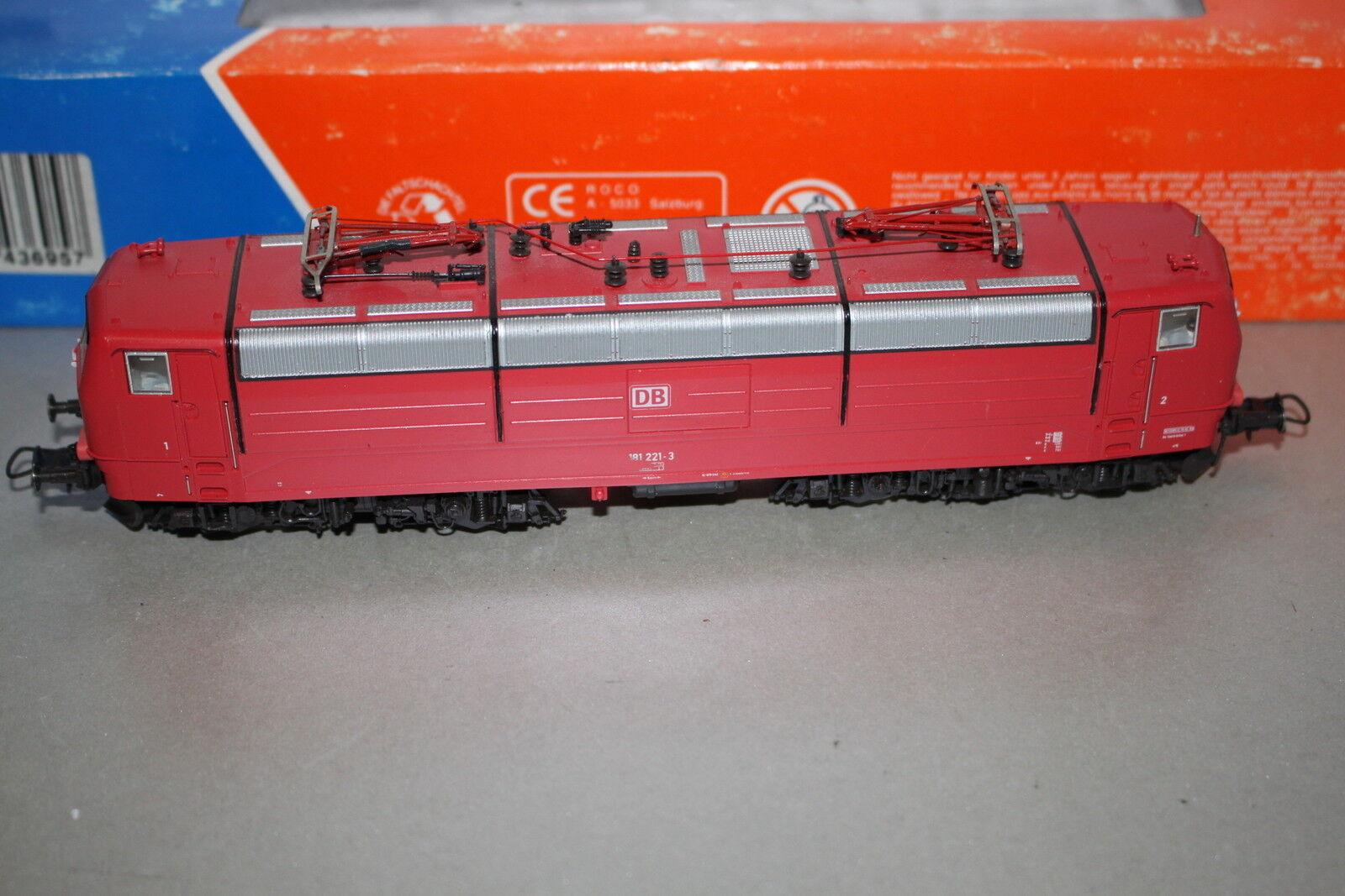 ROCO 43695 DCC DIGITAL elok serie siano 181 2213 DB traccia h0 OVP