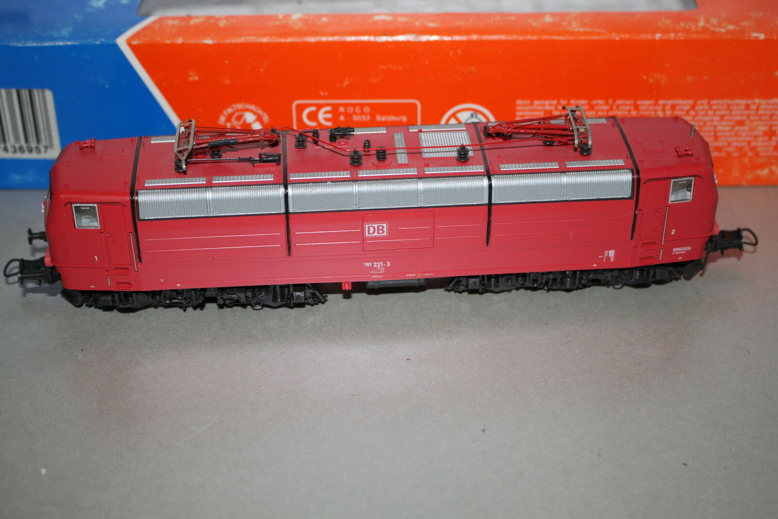 Roco 43695 DCC digital elok serie 181 221-3 DB pista h0 OVP