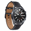 Samsung-Galaxy-Watch-3-45mm-Smartwatch-Mystic-Black-SM-R840NZKCXAR-Extra-Band thumbnail 2